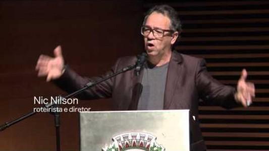O Lucro acima da vida - piloto do filme é exibido no Teatro de Paulínia