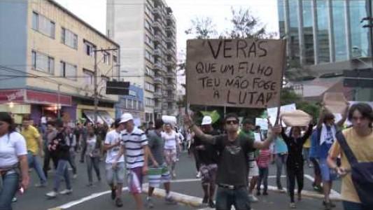 Manifestação em Campinas - 20/06/2013