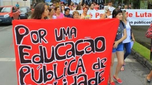Educação pública no estado de São Paulo grita por ajuda...ela está morrendo