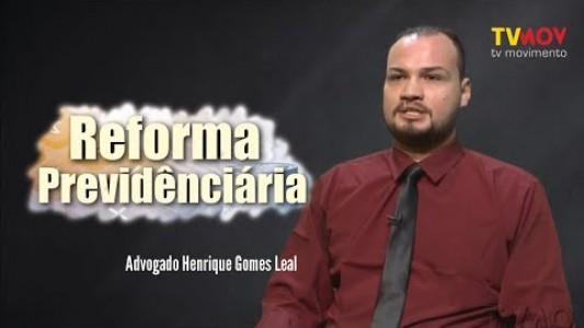 REFORMA DA PREVIDÊNCIA: O FUTURO DA APOSENTADORIA