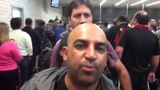 Caos no Aeroporto de Guarulhos
