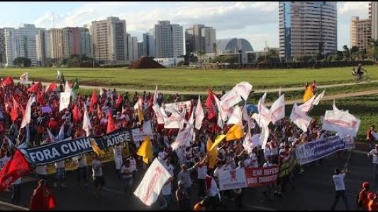 Ato 31 de março 2016 contra o Golpe e pela Democracia- Brasília
