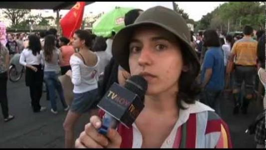 Ato contra onda de estupros em Barão Geraldo