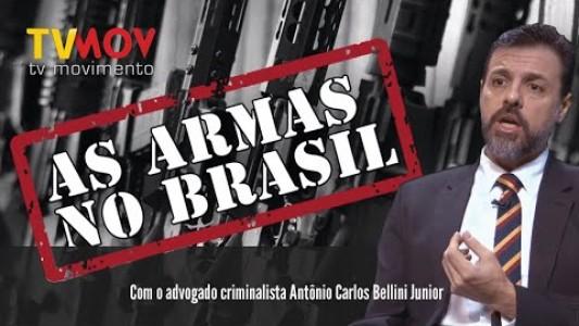    AS ARMAS NO BRASIL  