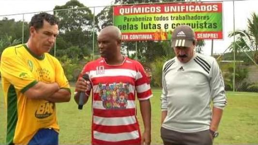 Copa Vitória: abertura com ex-jogadores da seleção brasileira.