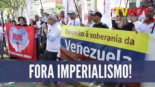 ATO EM SOLIDARIEDADE AOS VENEZUELANOS