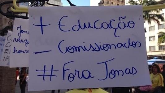 Ato contra a farra dos comissionados de Jonas Donizette (PSB) -18/07/2015