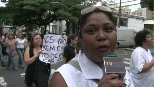 Greve no Cândido Ferreira