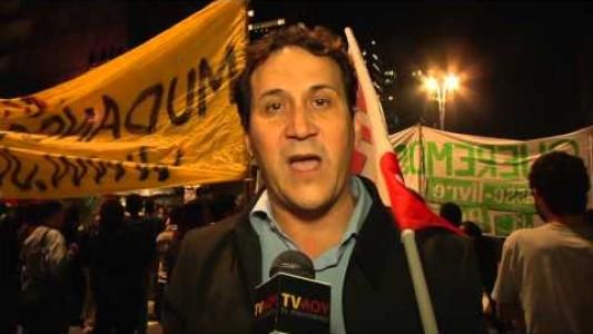 Ato na Paulista - Intersindical na luta