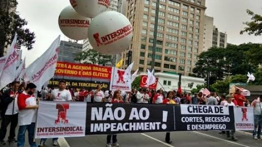 Unidos pelo #ForaCunha e contra o impeachment e ajuste fiscal
