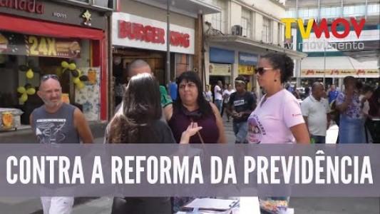 COLETIVO DE MULHERES CONTRA A REFORMA DA PREVIDÊNCIA