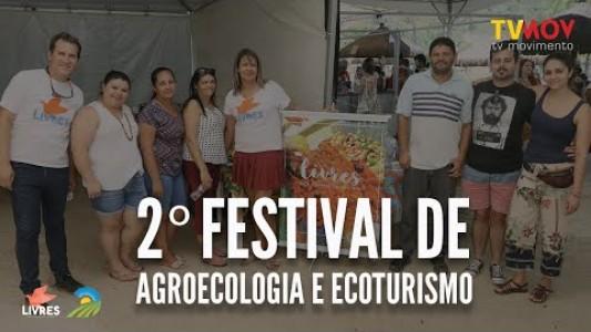 LIVRES no 2º Festival de Agroecologia e Ecoturismo do Leste Paulista
